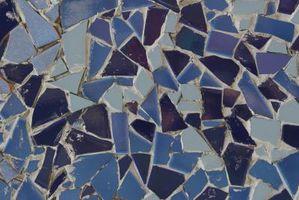Cómo hacer encimeras de mosaico liso y plano