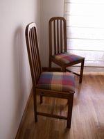 Instrucciones para la tapicería de la silla de comedor