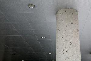 Tratamientos de techo acústico
