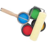 Cómo hacer rollos de rodillos para pintar