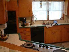 Sustitución de gabinetes de cocina y encimeras