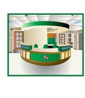 Ideas para un contador de la recepción del edificio