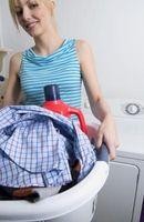 ¿Cómo convertir el agua caliente sobre mi lavadora hacia abajo?