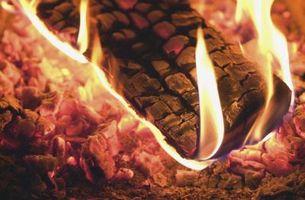 Cómo quemar leña arce