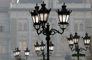 Poste de luz en inglés