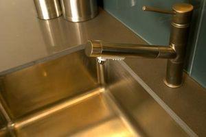 Fregaderos de acero inoxidable calibre 18 y calibre 20