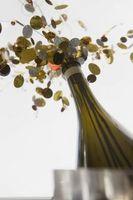 ¿Cómo puedo reutilizar botellas Screw Top Champagne Andre?