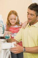 Cómo noquear a un agujero de un tomacorriente para lavadora