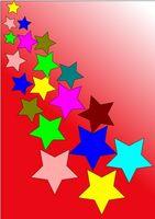 Dormitorio de adolescentes: Ideas de pintura con estrellas
