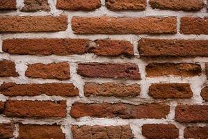 Cómo restaurar las paredes de ladrillo