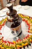 Cómo crear una bandeja de acrílico para mi fuente de Chocolate