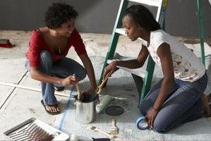 ¿Cuál es la diferencia entre la pintura a base de agua y pintura a base de aceite?