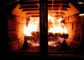 Instalación de chimenea de ladrillo