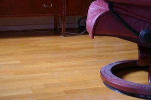 Cómo quitar pisos vinílicos sin dañar abeto piso inferior