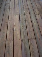 Cómo construir una cubierta flotante de madera Patio