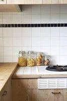 ¿Qué tipo de sustrato es necesario para un azulejo Backsplash de la cocina?